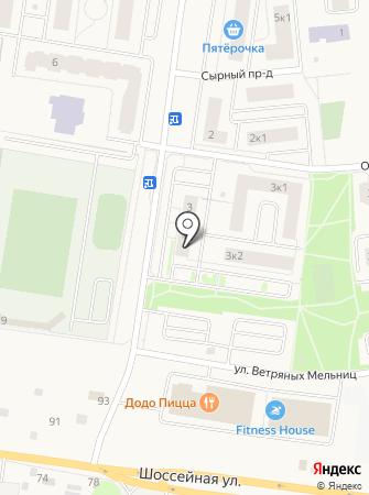 ХочуКвартиру.ру на карте