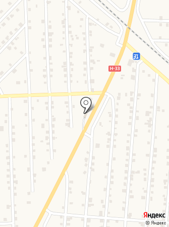 АЗС на Южной на карте