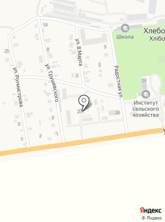 Одесский филиал государственного научно-исследовательского института лабораторной диагностики и ветеринарно-санитарной экспертизы на карте
