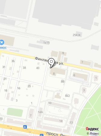 Отдел надзорной деятельности и профилактической работы Колпинского района на карте