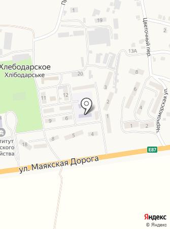 Берізка на карте
