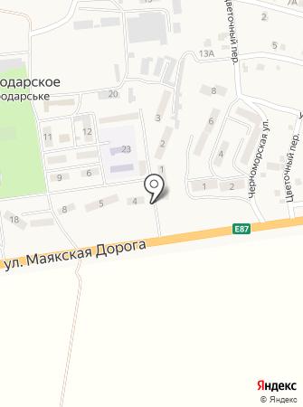 Евромода на карте