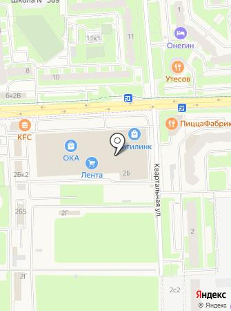 Экспрессмак на карте