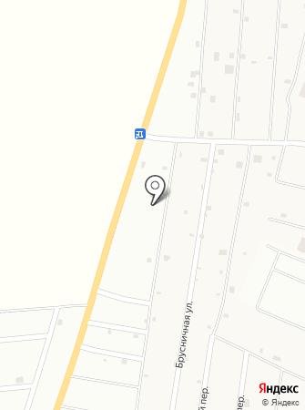 Грибочек на карте