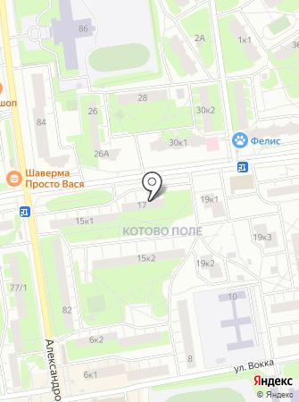 MUKA на карте