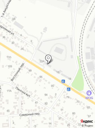 Одесса-Инвест на карте