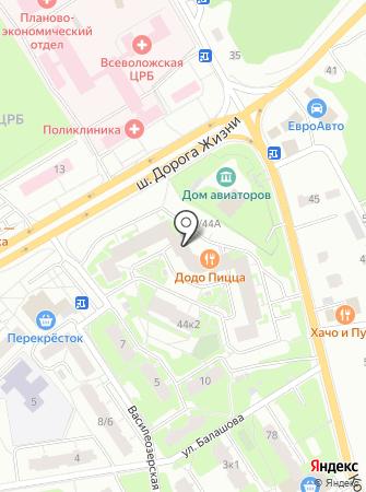 ВотОнЯ на карте