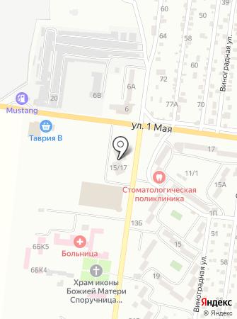 Альфа вет на карте