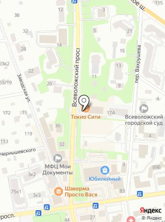 Сквад Металлопрокат на карте