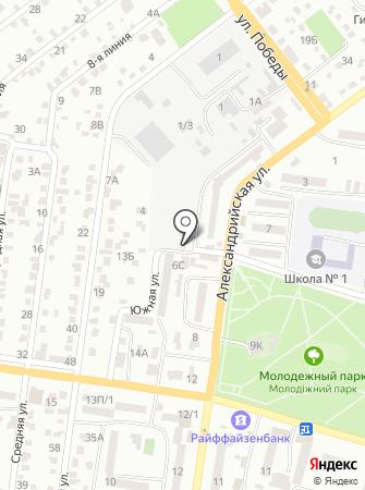 Экопаркинг на карте