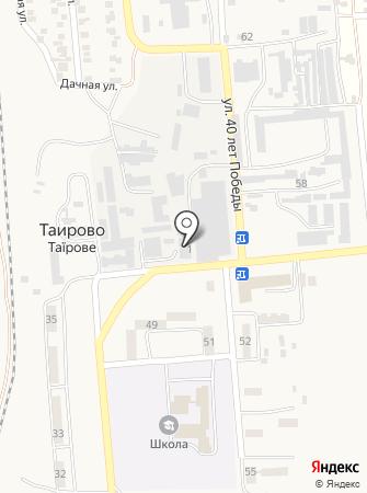 Нива на карте