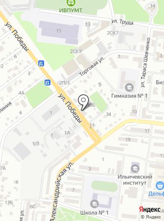 Страж на карте