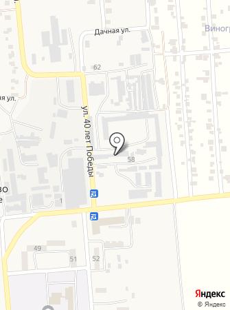 МК Синергия на карте