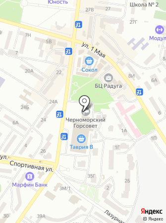 Отдел ведения Государственного реестра избирателей Ильичёвского городского совета на карте