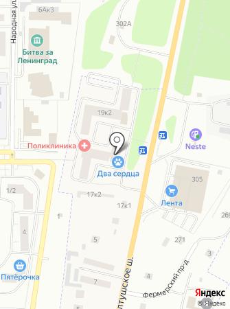 Тимофеевский мёдъ на карте
