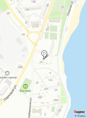 Канализационная насосная станция на карте