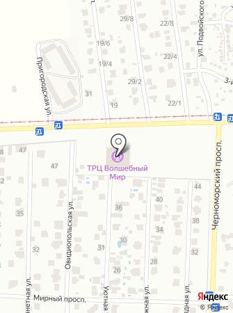 Кимс на карте