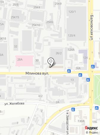 Интернет-магазин мужских рубашек на карте