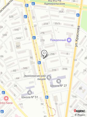 Многопрофильный центр на карте