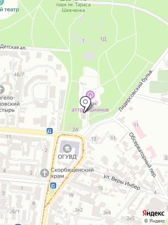 Хай Парк Одесса на карте