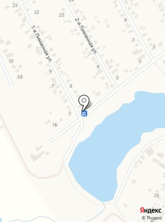 Продуктовый магазин на ул. Лиманная 1-я на карте