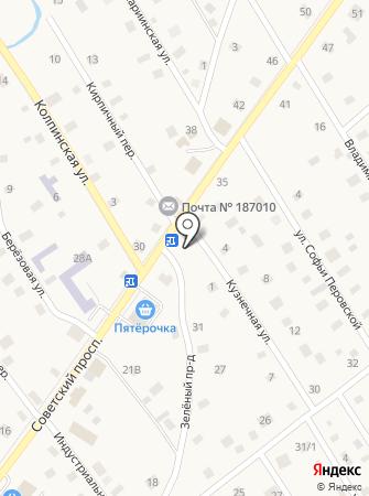 Магазин мяса на Советском проспекте (Тосненский район) на карте