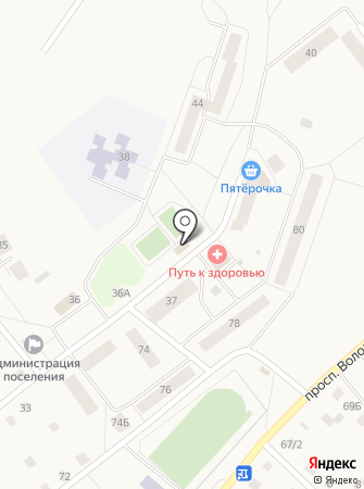 Продуктовый магазин на ул. Победы (Тосненский район) на карте