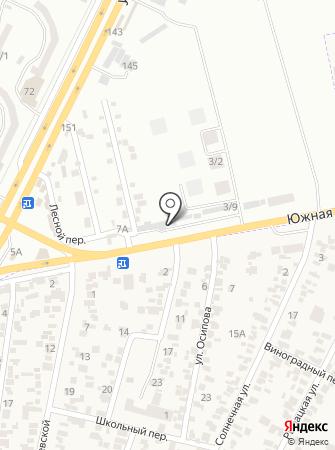 Кованка на карте