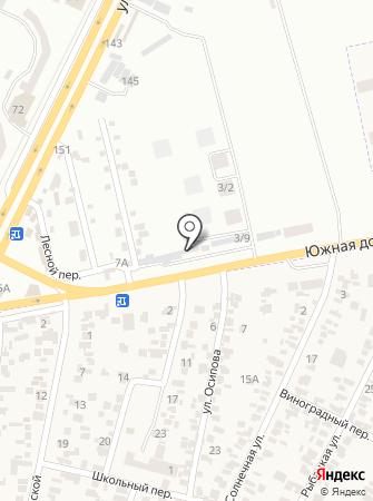 Производственно-строительная фирма на карте