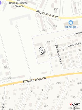 Набережный квартал на карте