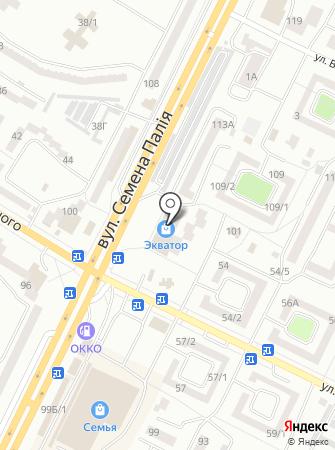 Конверсия на карте