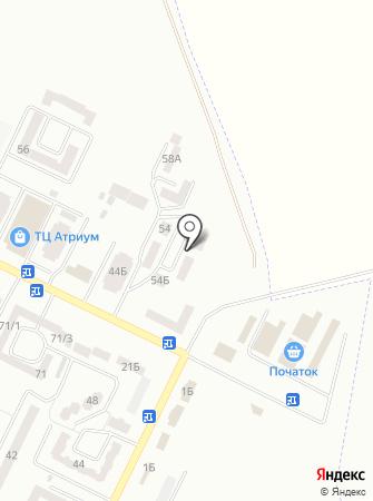 Азалія на карте