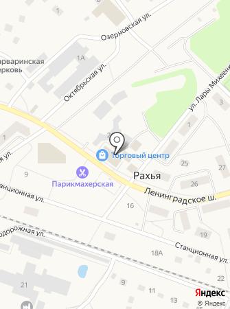 Ириновский на карте
