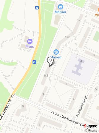 Кировский ломбард на карте
