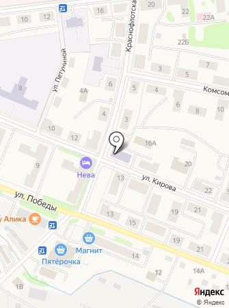 Комитет социальной защиты населения Администрации Кировского муниципального района на карте
