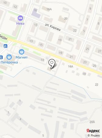 Шиномонтажная мастерская на ул. Победы на карте