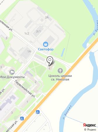 Новгородская ПМК-1 на карте
