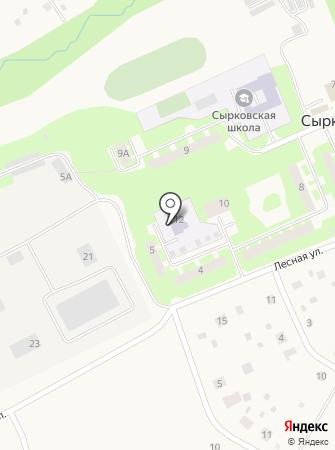 Дошкольное отделение на карте