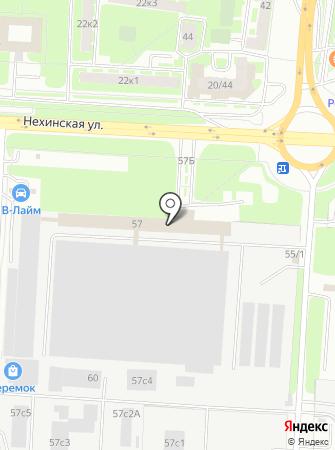 ГосМетиз на карте