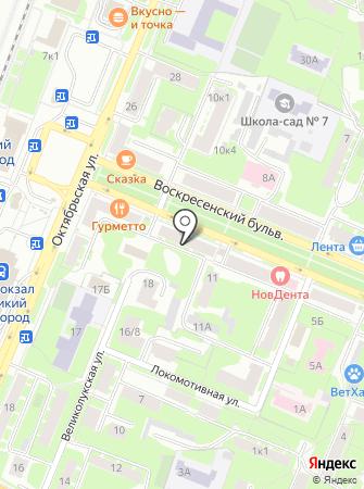 ТРД на карте