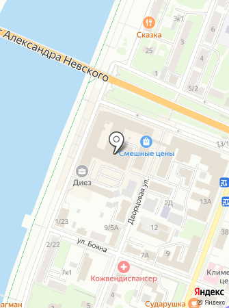 Текстиль из г. Иваново на карте