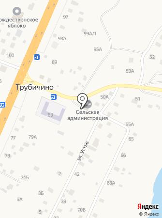 Администрация Трубичинского сельского поселения на карте
