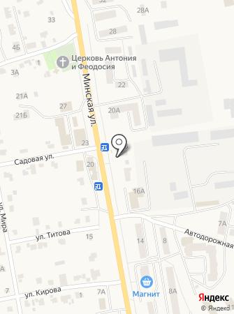Романишин на карте