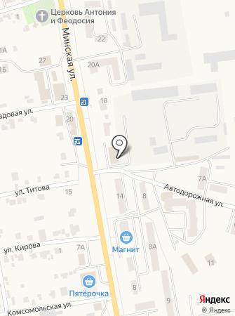 Миртранс на карте