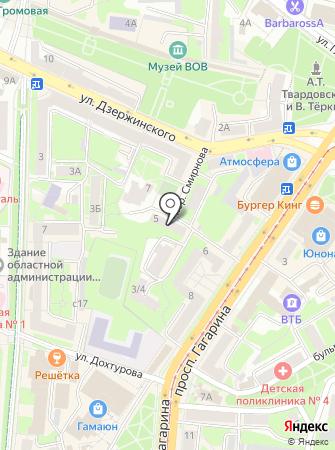 СоюзТур на карте