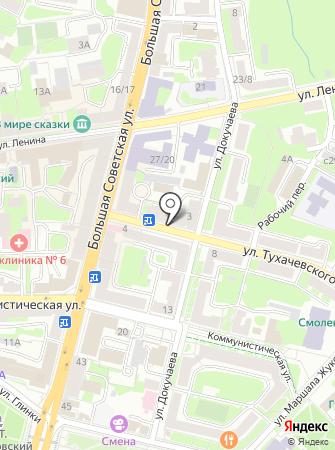 Флоренция на карте