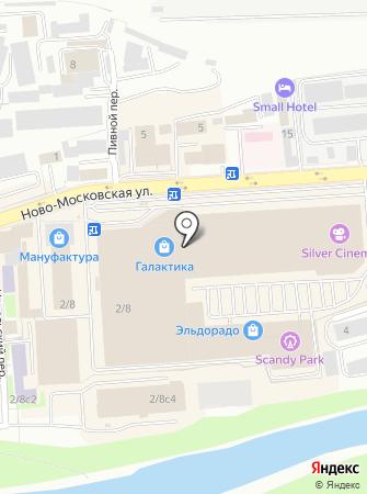 Мио на карте