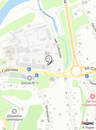 Нина на карте