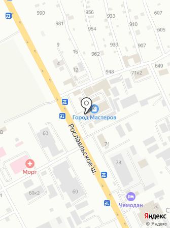 Магазин металлоизделий на карте