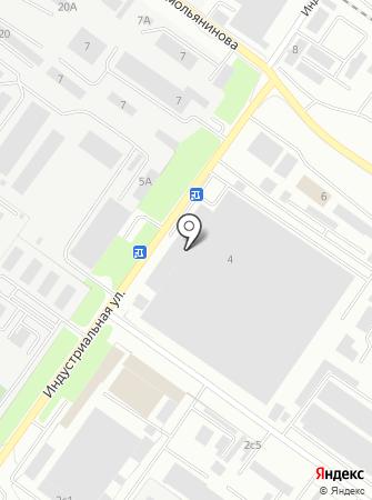 Тепличный комбинат №1, ПСХК на карте